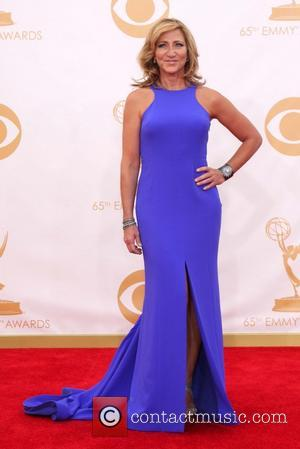 Edie Falco - 65th Annual Primetime Emmy Awards held at Nokia Theatre L.A. Live - Arrivals - Los Angeles, California,...