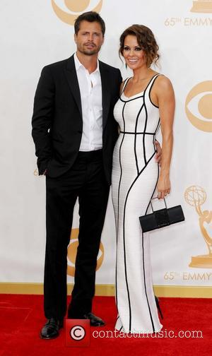 Brooke Burke and David Charvet - 65th Annual Primetime Emmy Awards held at Nokia Theatre L.A. Live - Arrivals -...