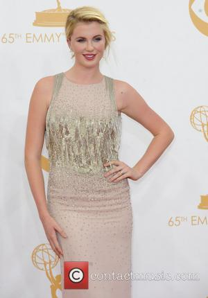Ireland Baldwin - 65th Annual Primetime Emmy Awards held at Nokia Theatre L.A. Live - Arrivals - Los Angeles, California,...