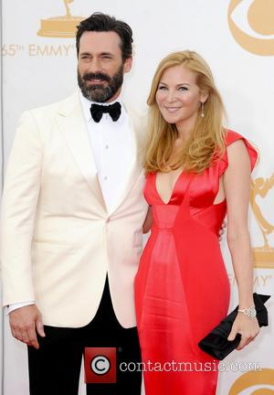 Jennifer Westfeldt and Jon Hamm - 65th Annual Primetime Emmy Awards held at Nokia Theatre L.A. Live - Arrivals -...
