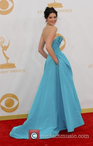 Jessica Pare - 65th Annual Primetime Emmy Awards held at Nokia Theatre L.A. Live - Arrivals - Los Angeles, California,...