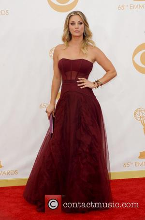 Kaley Cuoco Shows Off Sweet New Boy Toy, Ryan Sweeting, At Emmy Awards