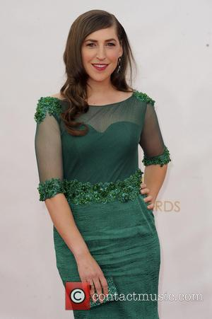 Mayim Bialik - 65th Annual Primetime Emmy Awards held at Nokia Theatre L.A. Live - Arrivals - Los Angeles, California,...