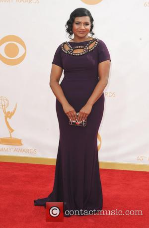 Mindy Kaling - 65th Annual Primetime Emmy Awards held at Nokia Theatre L.A. Live - Arrivals - Los Angeles, California,...