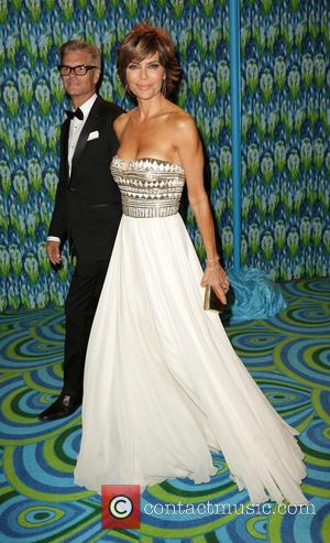 Harry Hamlin and Lisa Rinna - HBO's Annual Primetime Emmy Awards Post Award Reception at The Plaza at the Pacific...