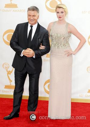 Alec Balwin and Ireland Baldwin - 65th Annual Primetime Emmy Awards held at Nokia Theatre L.A. Live - Arrivals -...