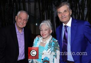 Garry Marshall, Lois Aldrin and Fred Willard