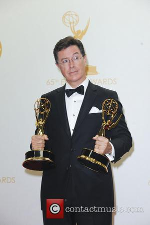 Stephen Colbert - 65th Annual Primetime Emmy Awards - Press Room - Los Angeles, CA, United States - Monday 23rd...