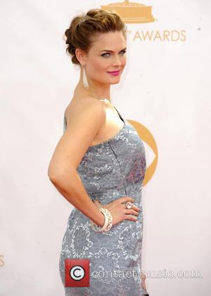Emily Deschanel - 65th Annual Primetime Emmy Awards held at Nokia Theatre L.A. Live - Arrivals - Los Angeles, California,...