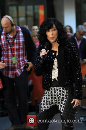 Cher - Cher performs on NBC's 'Today' at Rockefeller Plaza - New York, NY, United States - Monday 23rd September...
