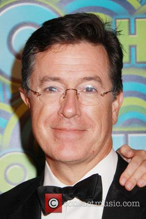 Stephen Colbert Won't Stop Going On About That Emmy Win