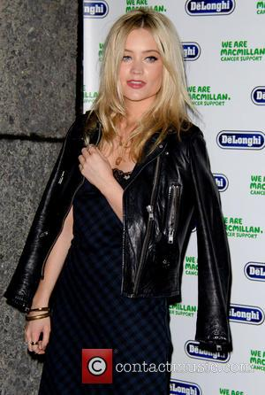Laura Whitmore - Macmillan De'Longhi Art Auction held at the Royal College of Art - Arrivals - London, United Kingdom...