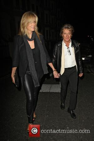 Rod Stewart and Penny Lancaster - Rod Stewart and Penny Lancaster had gone to see 'Barking in Essex' at the...