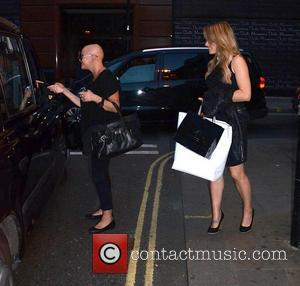 Gail Porter and Sian Welby - Tim Drummond and Phil Hawksworth - Book Launch Party at the Sanctum Soho Hotel...