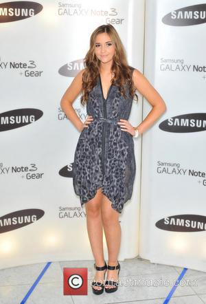 Jacqueline Jossa - Samsung Galaxy Gear and Galaxy Note 3 UK launch held at the Hotel ME - Arrivals. -...