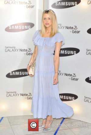 Peaches Geldof - Samsung Galaxy Gear and Galaxy Note 3 UK launch held at the Hotel ME - Arrivals. -...
