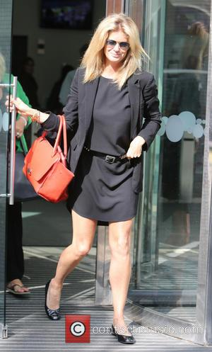 Rachel Hunter - Celebrities at the ITV studios - London, United Kingdom - Tuesday 24th September 2013