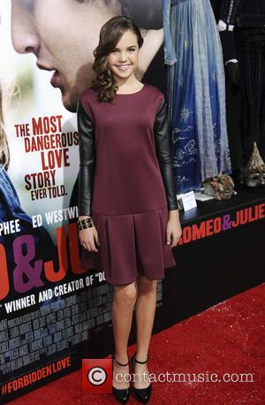 Bailee Madison - Premiere of Relativity Media's 'Romeo & Juliet' at ArcLight Hollywood - Los Angeles, CA, United States -...
