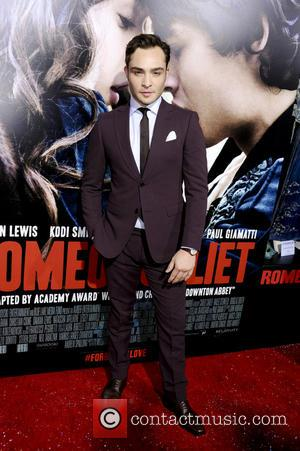 Ed Westwick - Premiere of Relativity Media's 'Romeo & Juliet' at ArcLight Hollywood - Los Angeles, CA, United States -...