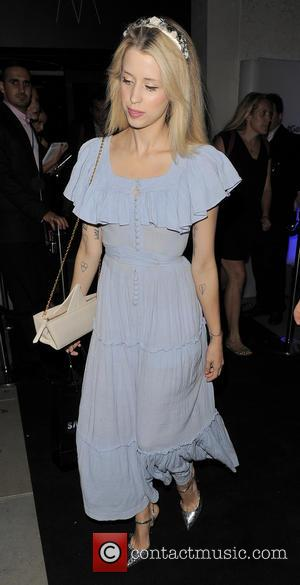 Peaches Geldof - Samsung Galaxy Gear and Galaxy Note 3 UK launch held at the Hotel ME - Departures -...