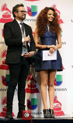 Latin Grammy Awards, Aleks Syntek and Leslie Grace