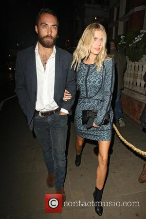 Donna Air and James Middleton - Celebrities at the Ruski launch party in Kensington - London, United Kingdom - Wednesday...