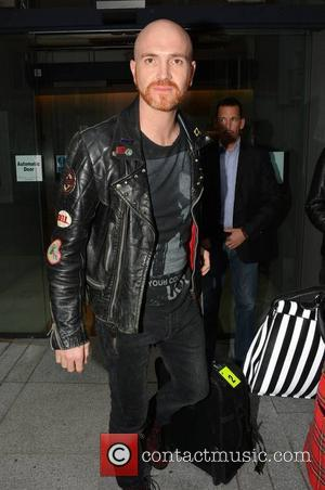 Mark Sheehan - The Script - Numerous bands & artists arrive at The Morrison Hotel ahead of Arthur's Day 2013...