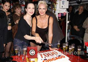 Bebe Neuwirth and Amra-Faye Wright - Broadway's Chicago Celebrates 7000th Performance at the Ambassador Theatre-backstage. - New York, NY, United...