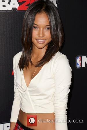 Karrueche Tran - Celebrities attend NBA 2K14 Premiere Party at Greystone Manor. - Los Angeles, CA, United States - Wednesday...