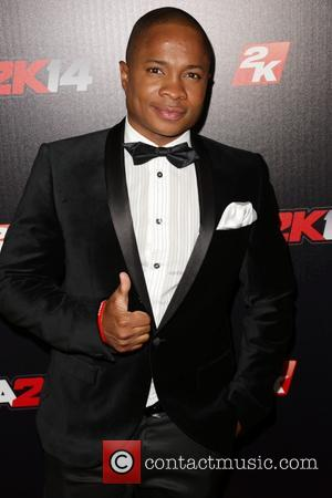King Sam Jones III - Celebrities attend NBA 2K14 Premiere Party at Greystone Manor. - Los Angeles, CA, United States...