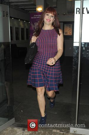 Ana Matronic - Celebrities leaving Riverside Studios after filming 'Celebrity Juice'. - London, United Kingdom - Wednesday 25th September 2013