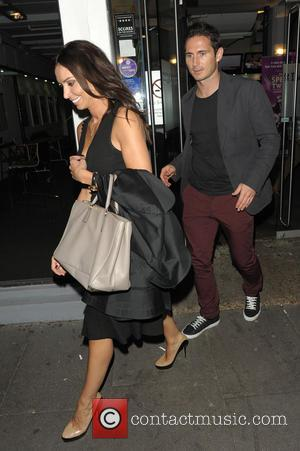 Christine Bleakley and Frank Lampard - Celebrities leaving Riverside Studios after filming 'Celebrity Juice'. - London, United Kingdom - Wednesday...