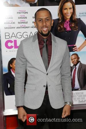 AFFION CROCKETT - Celebrities attend BAGGAGE CLAIM premiere at Premiere House at Regal Cinemas L.A. Live. - Los Angeles, CA,...