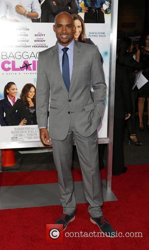 BORIS KODJOE - Celebrities attend BAGGAGE CLAIM premiere at Premiere House at Regal Cinemas L.A. Live. - Los Angeles, CA,...