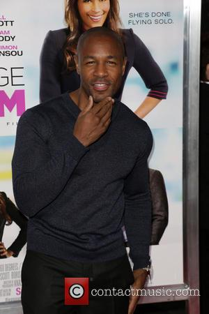 TANK - Celebrities attend BAGGAGE CLAIM premiere at Premiere House at Regal Cinemas L.A. Live. - Los Angeles, CA, United...
