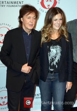 Sir Paul Mccartney and Rita Wilson