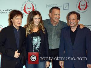Sir Paul Mccartney, Rita Wilson, Tom Hanks and Ben Donenberg