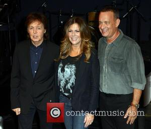 Sir Paul Mccartney, Rita Wilson and Tom Hanks