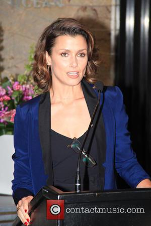 Bridget Moynahan - Bridget Moynahan lights up the Empire State Building red and white in honor of 'The Global Citizen...