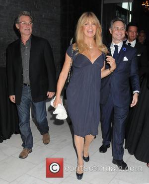 Kurt Russell, Goldie Hawn and And Jason Binn