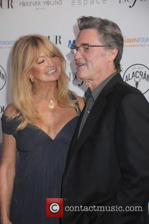 Kurt Russell and Goldie Hawn - attends The Hawn Foundation's MinduUP program celebration at ESPACE - Manhattan, NY, United States...