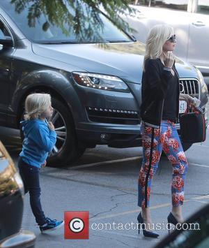 Gwen Stefani and Zuma Rossdale