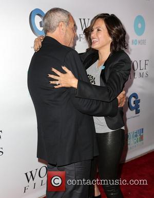 Dick Wolf and Mariska Hargitay