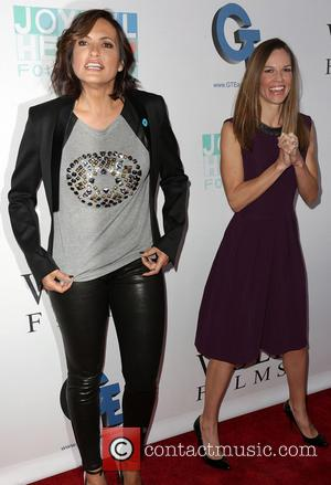 Mariska Hargitay and Hilary Swank - NO MORE PSA Launch at MILK Studios. - Los Angeles, CA, United States -...