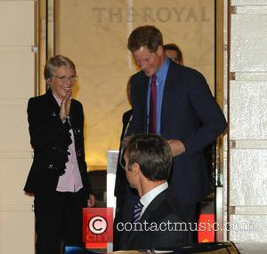 Julie Maxton and Prince Harry