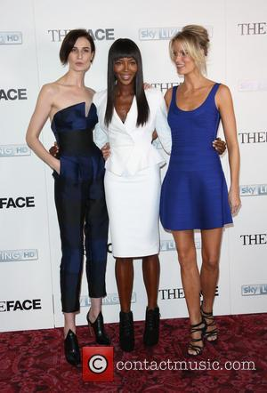 Naomi Campbell, Erin O'Connor and Caroline Winberg - 'The Face' TV press launch held at the Royal Opera House -...