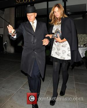 Trinny Woodall - Trinny Woodall and Charles Saatchi at Scott's restaurant - London, United Kingdom - Thursday 26th September 2013