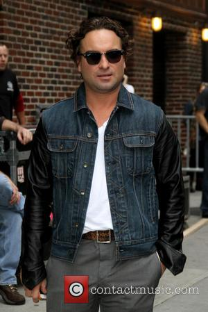 Johnny Galecki - Celebrities outside the Ed Sullivan Theater for the Late Show with David Letterman. - New York, NY,...