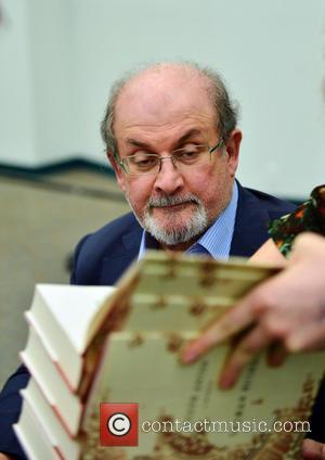 Salman Rushdie - Salman Rusdie speaks and sign copies of his new book 'Joseph Anton: A Memoir' presented by Books...