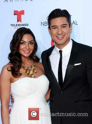 Courtney Lopez and Mario Lopez